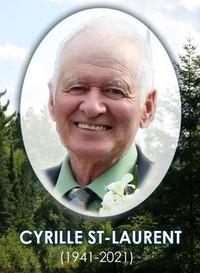 Cyrille St-Laurent  2021 avis de deces  NecroCanada