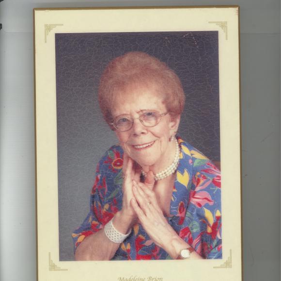 Brion (Desgroseilliers) Madeleine 1921 – 2016