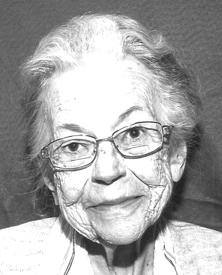 Jeannine Leclerc  27 janvier 1924 - 25 décembre 2016