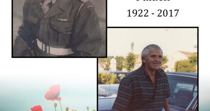 Walter Palach - 1922 - 2017