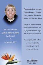 Chayer nee Pepin Claire  19332017
