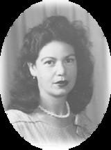 Maria Concetta Cettina McNaught  1923  2017