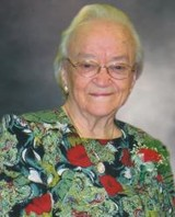 Mary Gladys Laflamme Maiden Cunningham  of St. Albert